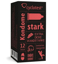 "cyclotest Kondome ""starke Liebe"""