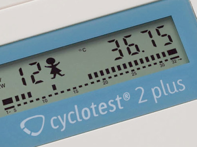 cyclotest 2Plus Display